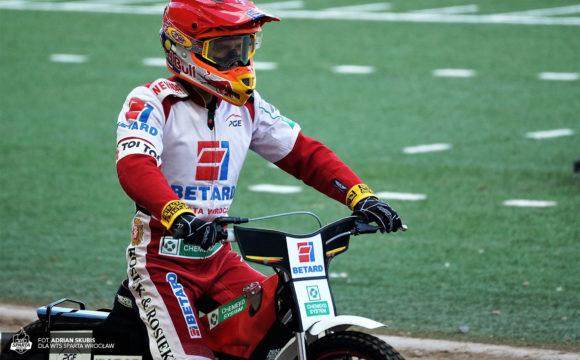 Maciej Janowski w finale Elitserien
