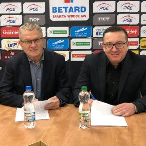 ARAD zostaje z WTS Spartą na kolejny sezon