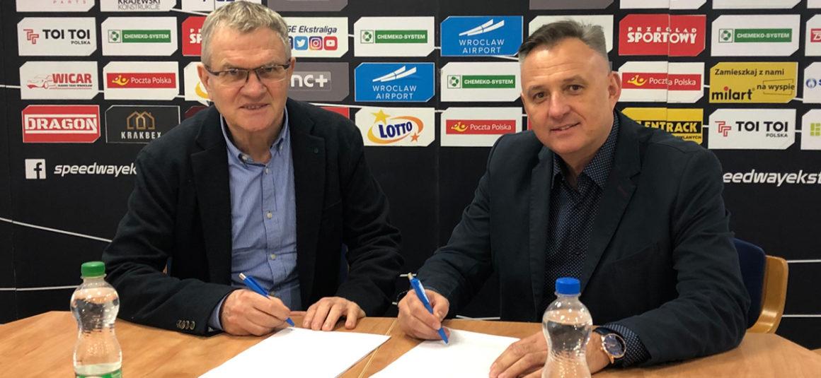 Milart przedłuża umowę z WTS Spartą Wrocław