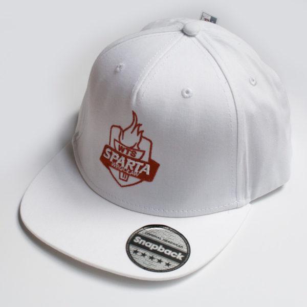 biala czapka sparty