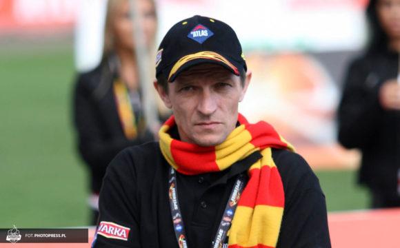 Trener Dariusz Śledź