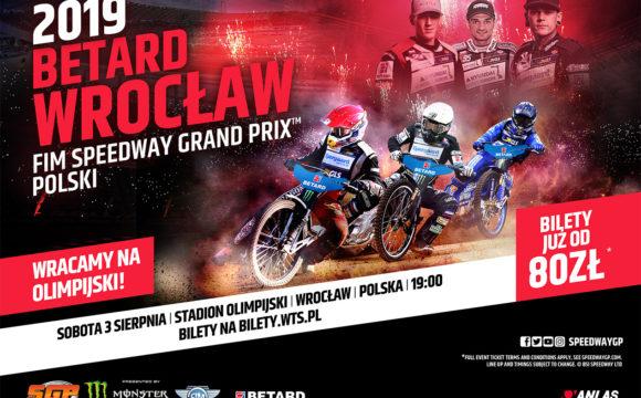 Ruszyła sprzedaż biletów na BETARD Wrocław FIM Speedway Grand Prix Polski