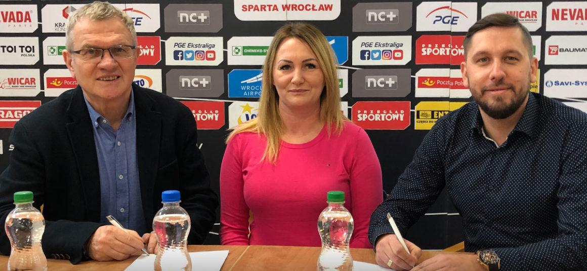 Medika nowym sponsorem WTS Sparty Wrocław