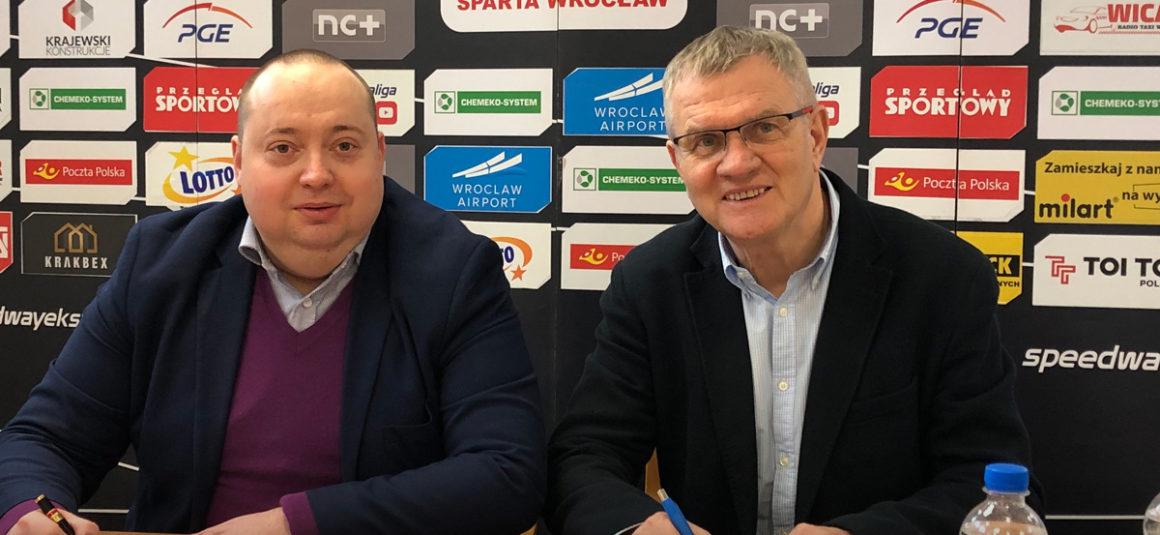 Polbus nadal z WTS Spartą Wrocław