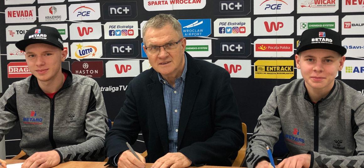 Michał i Bartosz Curzytek nowymi zawodnikami Betard Sparty Wrocław