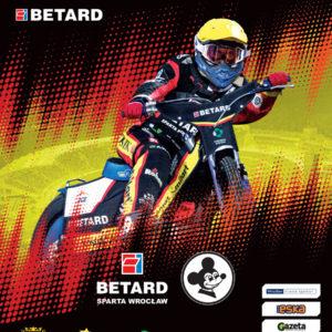 Program meczowy Betard Sparta – RM Solar Falubaz