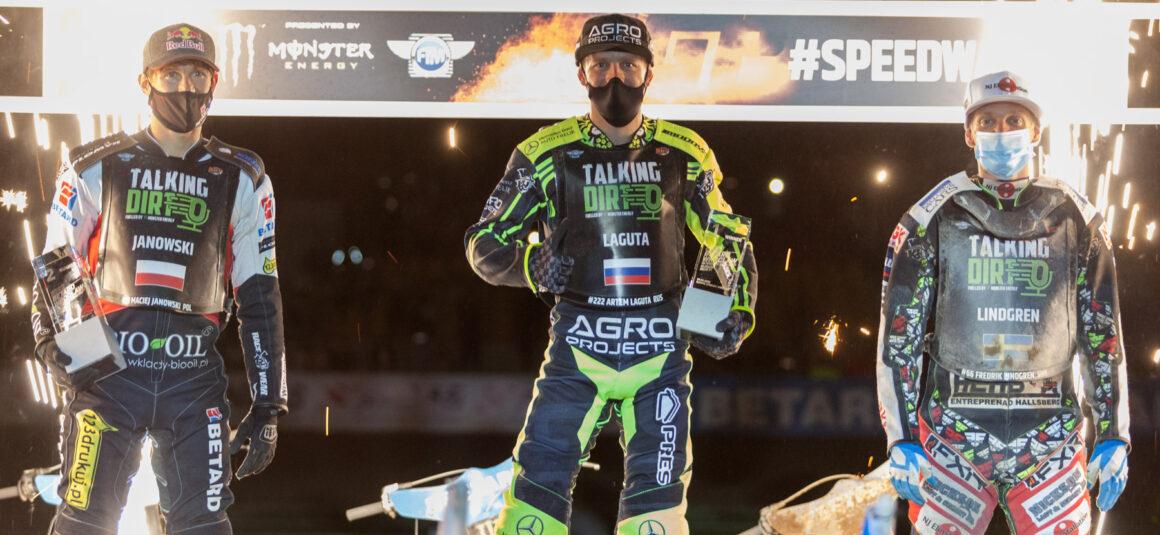 Maciej Janowski na podium w Betard Wrocław FIM Speedway GP!