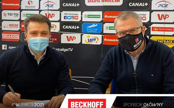Beckhoff Automation Polska rozszerza współpracę z WTS Sparta Wrocław
