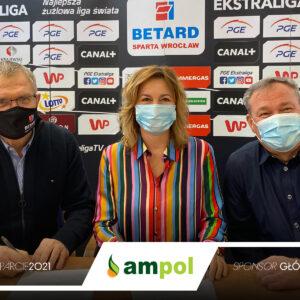Firma Ampol pozostaje sponsorem WTS Sparta