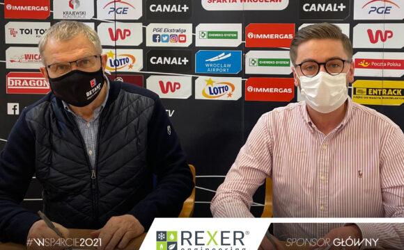 Firma Rexer sponsorem WTS Sparta Wrocław