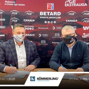 KÖMMERLING nowym Sponsorem Premium WTS Sparty Wrocław