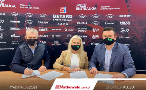 Firma Matkowski Sponsorem WTS Sparta